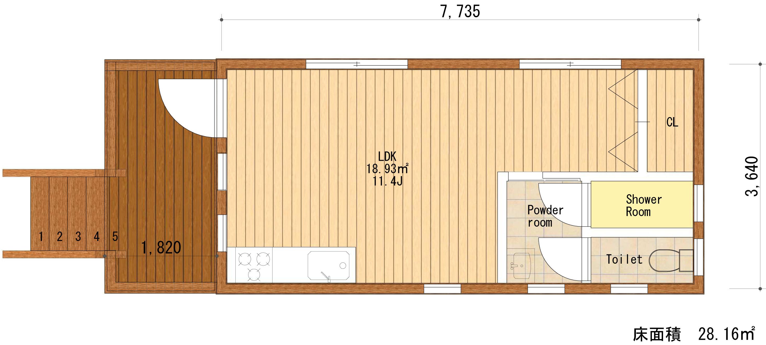PLAN1平面図